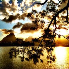 rio de janeiro #sunset #brazil