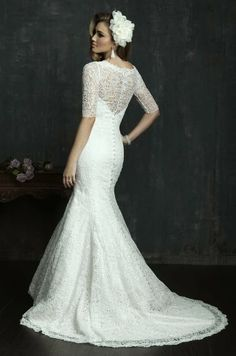 Impresionante selección de vestidos de novias | Colección Allure Bridals 2014