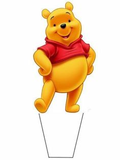 20 Standup Edible Cake Toppers Winnie The Pooh Birthday Toppers | eBay