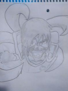 Mix anime : eren(shingeki no kyojin). Kaneki(Tokyo Ghoul) Naruto, Kakashi(Naruto) Saitama(One Punch man). Esfera de 4 estrellas(DBZ