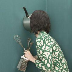 Faceless photo series by Mitsuko Nagone