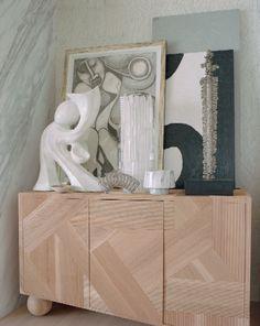 Kelly Wearstler's Malibu Beach House Funky Furniture, Home Furniture, Furniture Design, Buffets, Condo Decorating, Interior Decorating, Luxury Interior, Interior Styling, Malibu Beach House