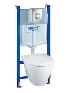 Wc-Stol Vägghängd Grohe Komplett | K-rauta.se Bathroom, Loft Conversions, Loft Ideas, House Ideas, Collections, Toilets, Bath, Washroom, Attic Ideas