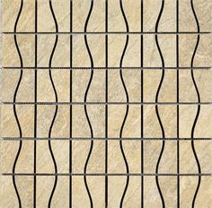 "#Interceramic - Imperial Quartz Moka Mosaic 16"" x 16"""