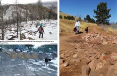 Most of #Boulder's trails have re-opened after the thousand-year flood