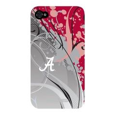 Coveroo University of Alabama - swirl design on a Black iPhone Slider Case Alabama Football Baby, University Of Alabama, Swirl Design, Iphone 4, Sliders, Cell Phone Accessories, Phone Cases, Black, Black People