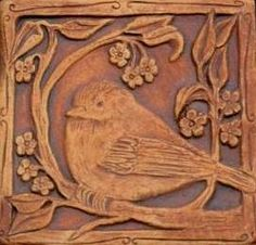 Barbara Clark ~ Seattle (she made my fireplace tiles) This is one of them