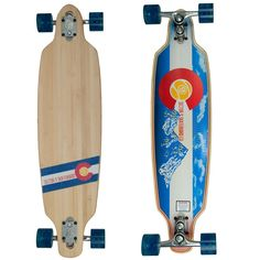 Amazon.com : Sector 9 Bamboo Colorado Aperture 36 in Complete Longboard : Sports & Outdoors