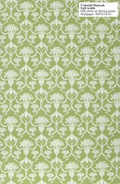 Wallpaper Historic Style - Colonial Damask WP6114 16 FULL