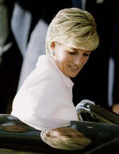 Princess Diana- haircut