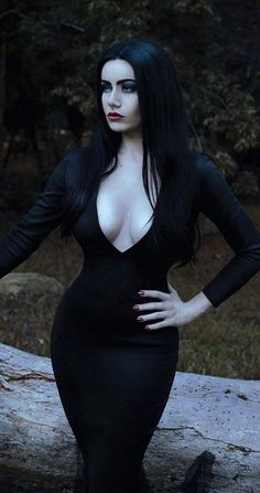 Whaou! Just like Morticia's!