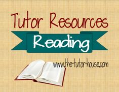 Reading resources for tutors | the-tutor-house