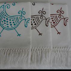 varianti di colore per asciugamani.  Lino bianco, 120 x 60 cm. Turchese, terra di Siena bruciata, Testa di moro