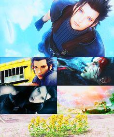 Zack Final Fantasy crisis core
