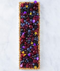 majachocolat Winter version of this delicious berry breakfast tart coming up I can t wait to show you the result Beautiful Desserts, Beautiful Cakes, Tart Recipes, Dessert Recipes, Pastry Recipes, Fruit Tart, Berry Tart, Just Desserts, Eat Cake