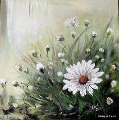 Letný vánok by Cecil - SAShE. Plants, Handmade, Sari, Painting, Saree, Hand Made, Painting Art, Craft, Paintings