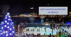 things to do this winter season in Philadelphia! Ice rinks, holiday activities, decadent treats, & more! Winter Fun, Winter Season, Ice Rink, Winter Destinations, Cheap Hotels, Holiday Activities, Travel List, Plan Your Trip, Winter Wonderland