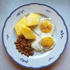 æg og ananas