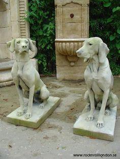 Hound Statue Garden   Google Search