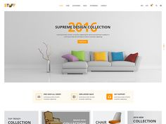 Stuff – Furniture eCommerce PSD Template is an awesome design idea for your online Furniture shop. Easy and intuitive shopping experience. PSD files are well organized and named accordingly so it's very easy to customize and update. Total 21 PSD files have been included.  We have included the best practice of web development – you can create great website layout based on Twitter Bootstrap or Grid 1170px.