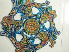 Acrylic Rangoli, Rangoli Designs, Diy And Crafts
