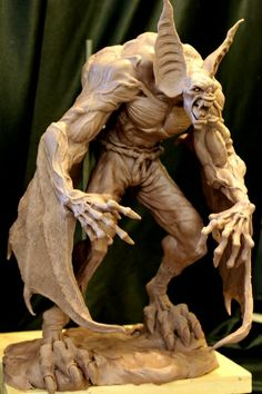 Manbat WIP 1 by ~Blairsculpture on deviantART