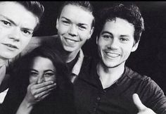 Thomas Sangster is like, I swear I don't bloody know who these people are