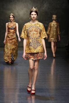 Dolce & Gabbana, Fall - Winter 2014