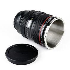 Canon lens mug... I want this!