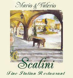 Scalini, a truly Italian restaurant: 1-3 Walton Street, London