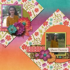 Pictures of my daughter.  Kit used:  Sherry Ferguson's Everything Changes available at http://scraporchard.com/market/Everything-Changes-Digital-Scrapbook-Kit.html Template by Connie Prince.