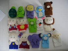 Animals Finger Puppets