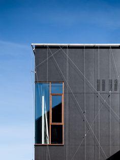 EQUITONE facade materials Bernadott Skolen, Hellerup,Tegnestuen Vandkunsten www.equitone.com #architecture #material #facade
