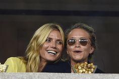 Heidi Klum and Mary-Kate Olsen