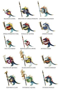 "Quick guide to ""canon"" starhosts - pick one or make your own! : ageofsigmar"