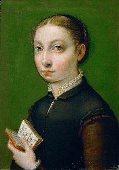 File:Sofonisba Anguissola - Self-portrait, 1554