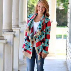 New cardigan alert! Coming in stock tonight @ 8pm cst! The colors on this one are to die for!!! Mint, coral, navy and taupe!! AHHH… #newarrivals #dailywebsiteupdates #newdesign #fabulous #fabcolors #fablook #daretobefabulous #fashionista #fashionforless #cardigans