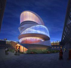 // Miliy Design / Buddhistischer Tempel / Taichang