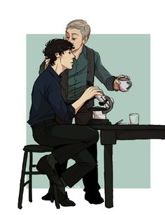 something really disgustingly sweet and domestic