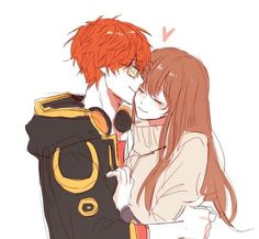 Find images and videos about mystic messenger and luciel choi on We Heart It - the app to get lost in what you love. Seven Mystic Messenger, Mystic Messenger Fanart, Anime Love Couple, Cute Anime Couples, Luciel Choi, Chibi, Cute Comics, Manga Anime, Akira