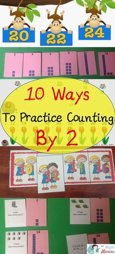 Check out 10 different ways to help your students become fluent with counting by 2's!  Whether you are looking for videos, songs, games or worksheets you are sure to find a fresh idea!
