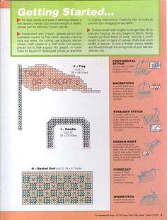 PLASTIC CANVAS (pág. 35) | Aprender manualidades es facilisimo.com