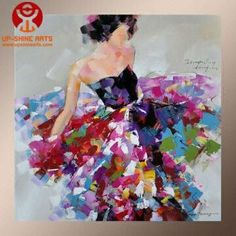 Full Handmade Modern Abstract Acrylic Paintings | Global Sources