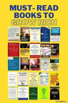 Best Books To Read, Good Books, Entrepreneur Books, Books For Self Improvement, Life Changing Books, Personal Development Books, Finance Books, Book Challenge, Psychology Books