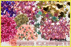 PNG Confeti by photosoma.deviantart.com on @deviantART