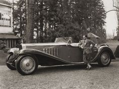 Bugatti was no stranger to high society. He was from a well-known aristocratic family with a history in the fine arts.