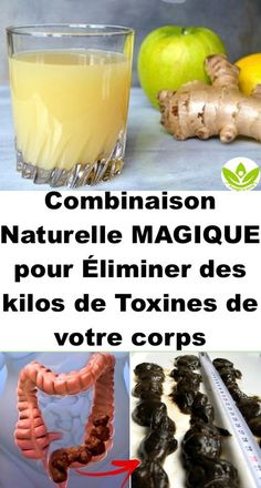 The Ginger, Apple, and Lemon Mixture Flushes Pounds of Toxins from the Colon – Die Mischung aus Ingwer, Apfel und Zitrone spült viele Pfund Giftstoffe aus dem Dickdarm – Natural Health Remedies, Natural Cures, Herbal Remedies, Natural Detox, Detox Drinks, Healthy Drinks, Healthy Food, Healthy Facts, Healthy Juices