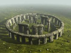 Stonehenge reconstructed                                                                                                                                                     More