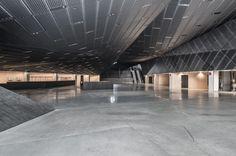 Striking #PerformingSpaces entry: Katowice International Conference Centre by JEMS | #Katowice #Poland © Juliusz Sokołowski