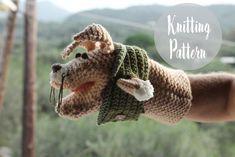 Animal Hand Puppet Free Knitting Pattern
